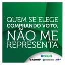 """Ministério Público Eleitoral no MS lança campanha """"Voto vendido, futuro perdido"""""""