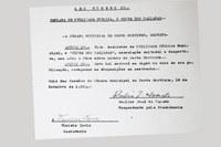 Câmara de Murtinho relembra os 65 anos de criação da lei que declarava utilidade pública municipal o Clube dos Caiçaras.