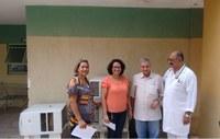 Câmara Municipal realiza doação de sete aparelhos ar condicionado ao Hospital Municipal Oscar Ramires