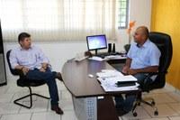 Deputado Lidio Lopes visita Câmara de Vereadores.