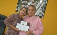 Jornal TP presta homenagem a presidente Sirley Pacheco