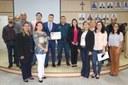 Juiz da Comarca de Porto Murtinho é homenageado por vereadores em Sessão Solene.