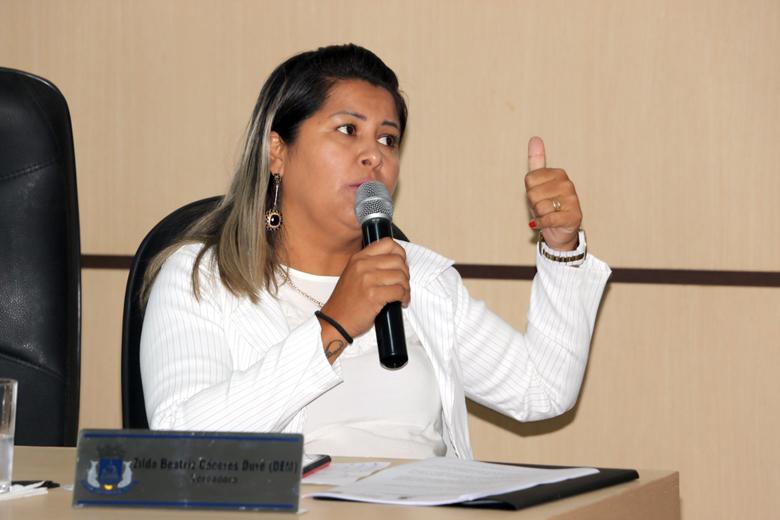No Km 6, cascalhamento, limpeza da via e colocações de manilhas para escoamento de águas é solicitado pela vereadora Zilda Duré em sessão.