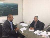 Presidente da Câmara Municipal de Porto Murtinho cumpre agenda na Capital, reivindicando melhorias no transporte rodoviário na linha Porto Murtinho/Campo Grande – MS.