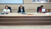 Primeira Sessão Extraordinária nesta casa de Leis. Deu-se entrada a Três projetos de Leis de Autoria do Executivo Municipal
