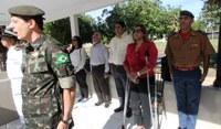 Sirley Pacheco assiste formatura de novos combatentes pantaneiros