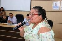 Vereadora Marciana solicita colocação de luminárias nos postes da estrada do Bocaiuval.