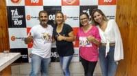 Vereadoras prestam homenagens as mulheres na rádio Guaicurus FM