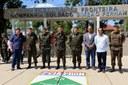 Vereadores participam de Solenidade de passagem de Comando da 2ª Companhia de Fronteira.