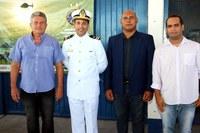 Vereadores participam de Solenidade que celebra nascimento de patrono e Dia do Marinheiro.